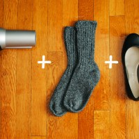 How to break in new shoes in just a few seconds!