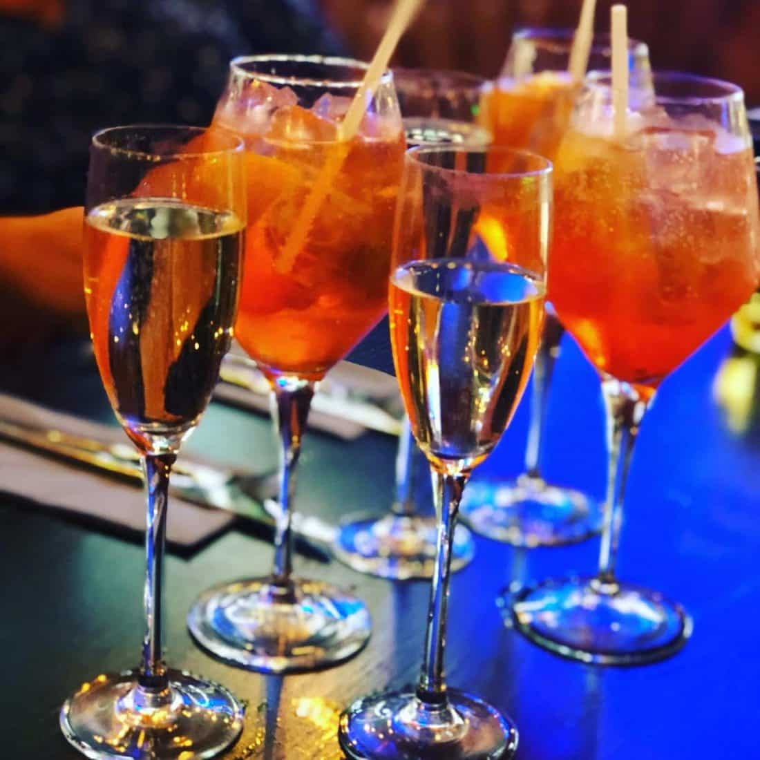Birthday drinks which were part of September's favourites