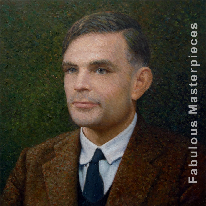 Painting Of Alan Turing Fabulous Masterpieces Blog
