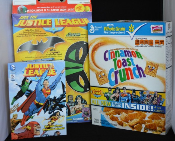 General Mills has teamed up with DC Comics
