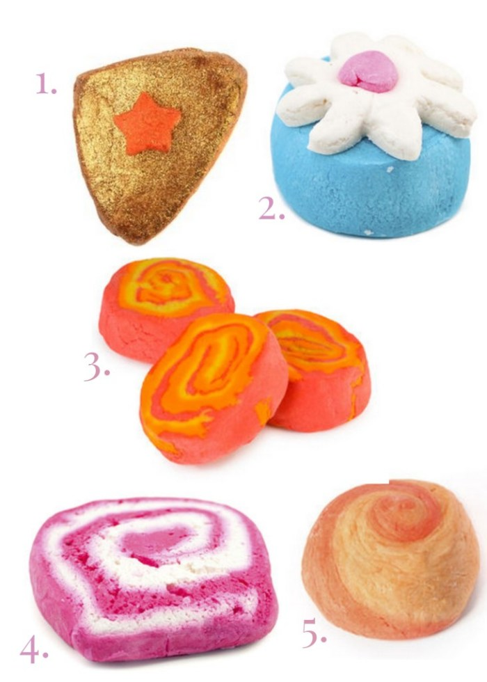 My Top 5 Lush Bubble Bars