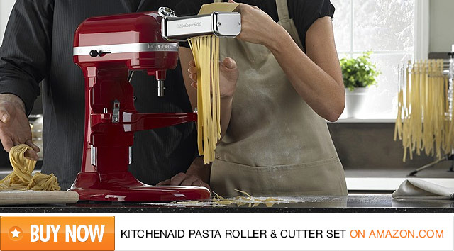 KitchenAid Electric Pasta Roller & Cutter Set