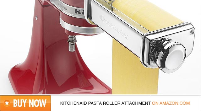 Buy the KitchenAid Pasta Roller Attachment on Amazon
