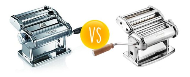 Comparison between the CucinaPro versus the Marcato Atlas pasta maker
