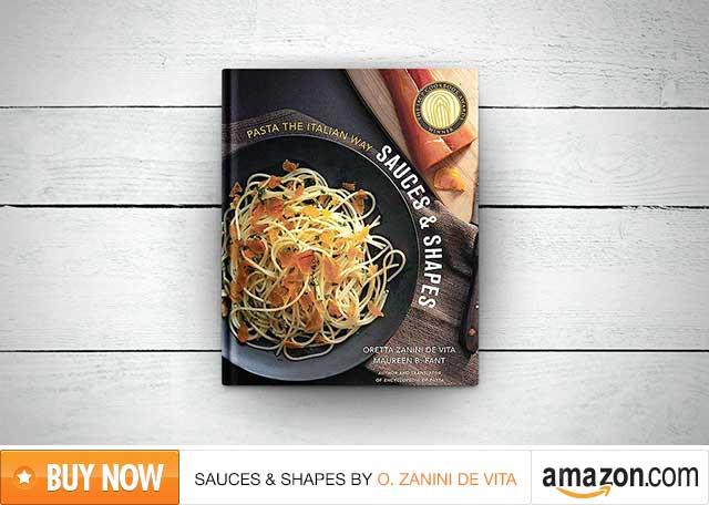 Review of the cookbook Sauces & Shapes by Oretta Zanini de Vita