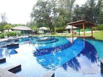 The pool at resort