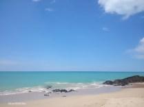 The beach near resort