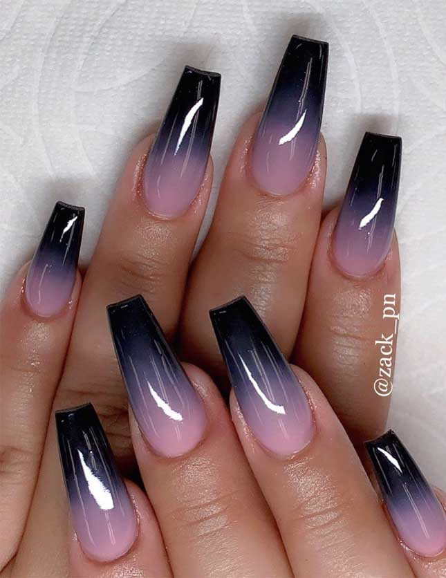44 gorgeous nail art designs, nails, coffin nails , fall nail designs, autumn nail ideas , nail art designs, hottest nail art designs, almond nail designs, best nail art designs, nail art designs 2019