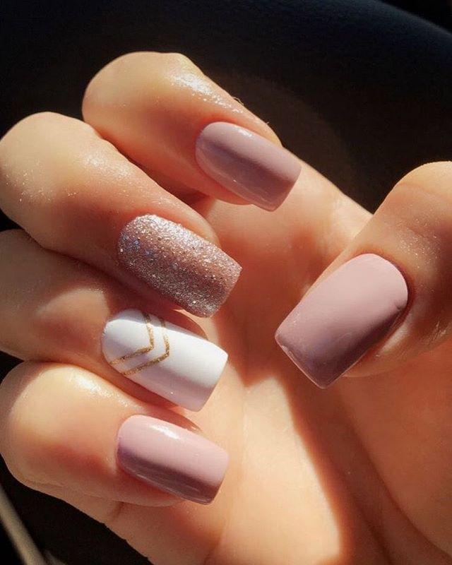 mismatched nail art designs #nailart #naildesigns