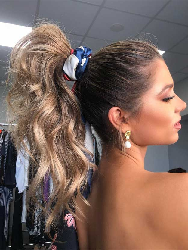 49 Pretty hairstyles that will change your look, pretty hairstyles, #hairstyles , ponytails