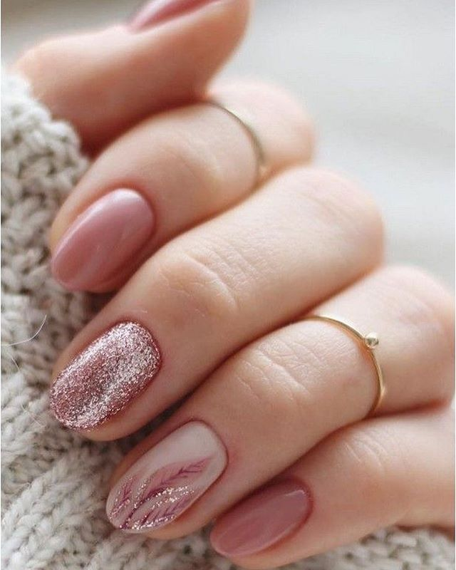 100 spring nail art ideas 2020, best spring nails 2020, pink glitter nail art designs, spring nail art designs, nail art designs #nailart #springnails