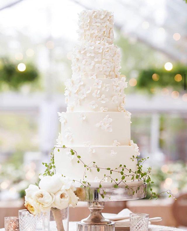 five tier wedding cake , spring wedding cakes #springweddingcakes