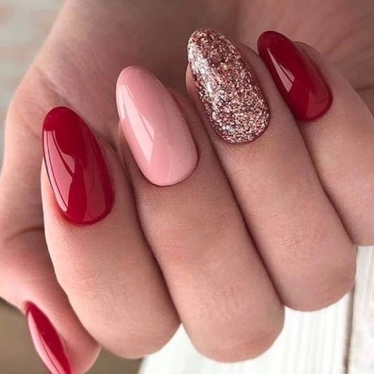 best nail art ideas for Valentine's day 2020 - 13, valentine nails 2020, valentines day nails 2020, valentine's day acrylic nails, valentine gel nails, valentines day nails 2020, nail designs, heart nail art , pink nail art, pink nail colors, simple heart nail designs, easy heart nail art, heart nail designs for short nails, heart tip nails,  heart toe nail designs, pink nails with red hearts