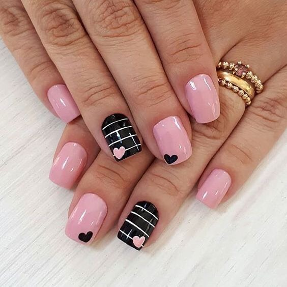 best nail art ideas for Valentine's day 2020 - 18, valentine nails 2020, valentines day nails 2020, valentine's day acrylic nails, valentine gel nails, valentines day nails 2020, nail designs, heart nail art , pink nail art, pink nail colors, simple heart nail designs, easy heart nail art, heart nail designs for short nails, heart tip nails, heart toe nail designs, pink nails with red hearts