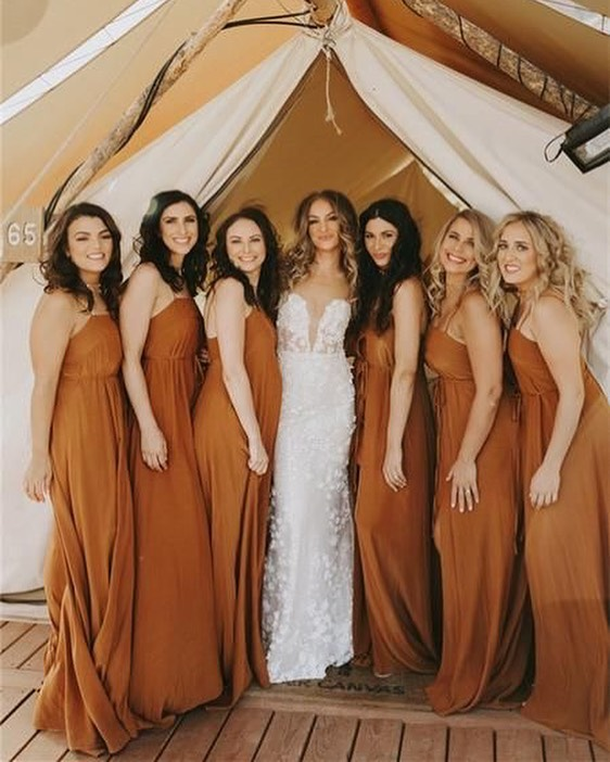 bridesmaid trends 2020 that are fabulous 15, bridesmaid dresses, bridesmaid dress trends 2020, bridesmaid dresses 2020, bridesmaid dress colors, mismatched bridesmaid dresses 2020 #bridesmaiddresses