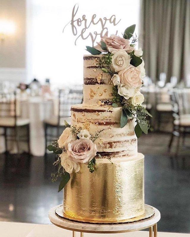 Beautiful Wedding Cake Trends For 2020 - 6, wedding cakes, wedding cake ideas, wedding cake, wedding cake trends, wedding cake trends 2020, spring wedding cake , wedding cake designs, wedding cake pictures #weddingcakes