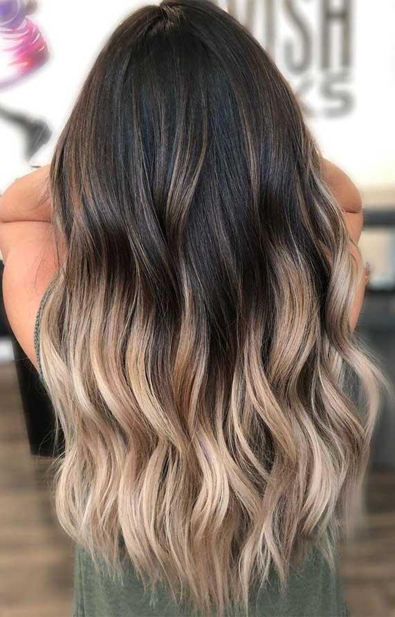 hair, haircut, hairstyle, hair color , ombre hair, dyson airwrap, hair salon near me, blonde hair, balayage hair, ombre hair brown, ombre hair blonde, wavy hair, hair dye