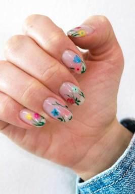 gel nails, acrylic nails, nail art, nail designs, nail ideas, flower nails, coffin nails, nail art designs, spring nail art , best spring nails 2020, floral nail art, nail design ideas, best floral nails, best gel nails