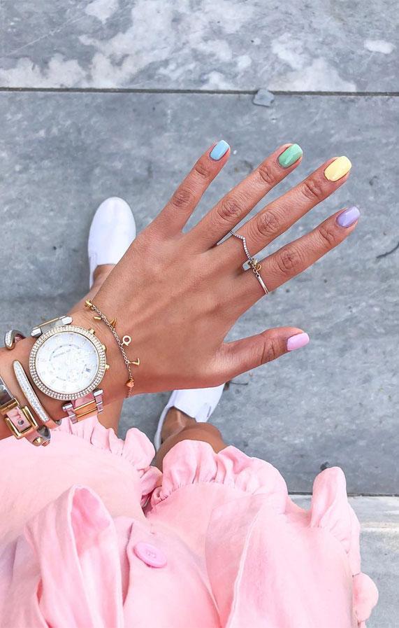nail, nail art , nail art designs 2020, nail art ideas, nail colors, pastel nails, easter nails, acrylic nails, pastel nails 2020 #pastel #pastelnails pastel nails design, pastel nails acrylic, pastel nails coffin, pastel nails rainbow, pastel nails with glitter, pastel nails different colors, pastel nails pink