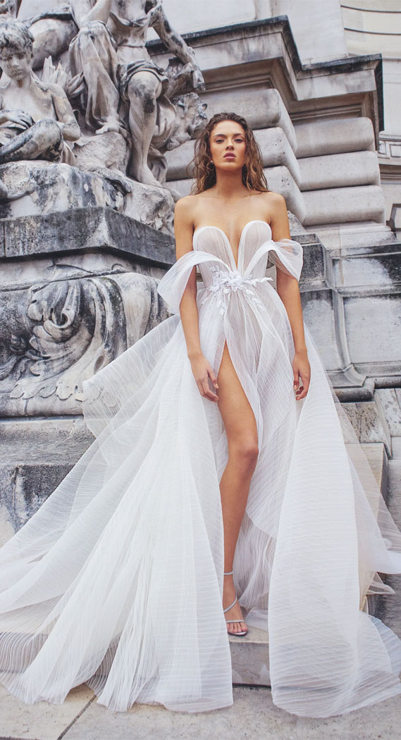 37 Trendy & Hot Sexy Wedding Dresses : wedding dress, wedding dresses, hot wedding dress, hot wedding dresses, sexy wedding dress , sexy wedding dresses, see through wedding dresses, off the shoulder wedding dress