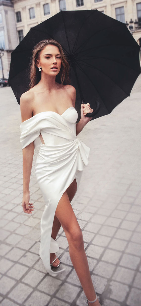 37 Trendy & Hot Sexy Wedding Dresses : wedding dress, wedding dresses, hot wedding dress, hot wedding dresses, sexy wedding dress , sexy wedding dresses, see through wedding dresses, off the shoulder wedding dress