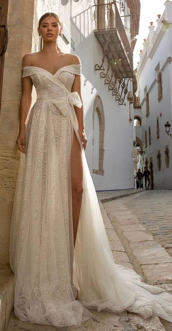 37 Trendy & Hot Sexy Wedding Dresses : wedding dress, wedding dresses, hot wedding dress, hot wedding dresses, sexy wedding dress , sexy wedding dresses, off the shoulder wedding dress