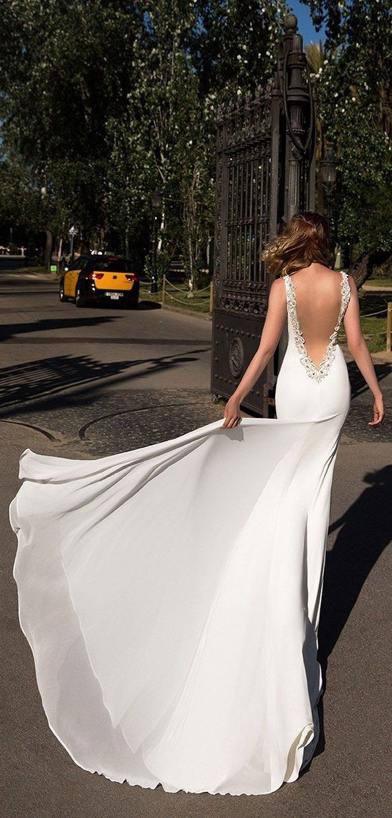 37 Trendy & Hot Sexy Wedding Dresses : wedding dress, wedding dresses, hot wedding dress, hot wedding dresses, sexy wedding dress , sexy wedding dresses, open back wedding dress