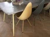 Beautiful Zinc Table Top