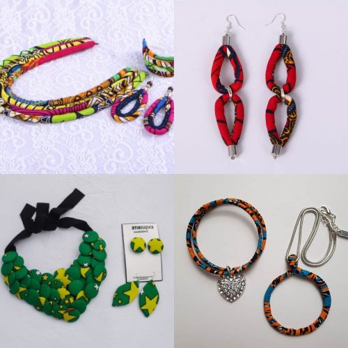Image result for Ankara jewelries