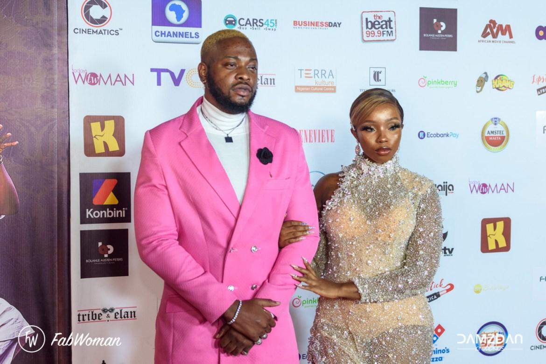 bling lagosians premiere red carpet