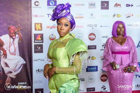 bling lagosians premiere red carpet