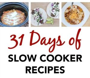 31 days slow cooker recipes free cookbook