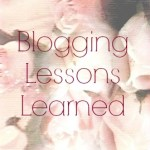 Lessons Learned Blogging in 2015