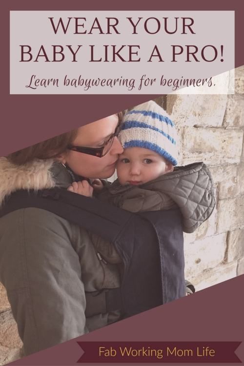 Wear your baby like a pro. Learn the basics of babywearing and the best baby carriers for newborns, infants and toddlers.