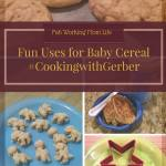 Fun Uses for Baby Cereal