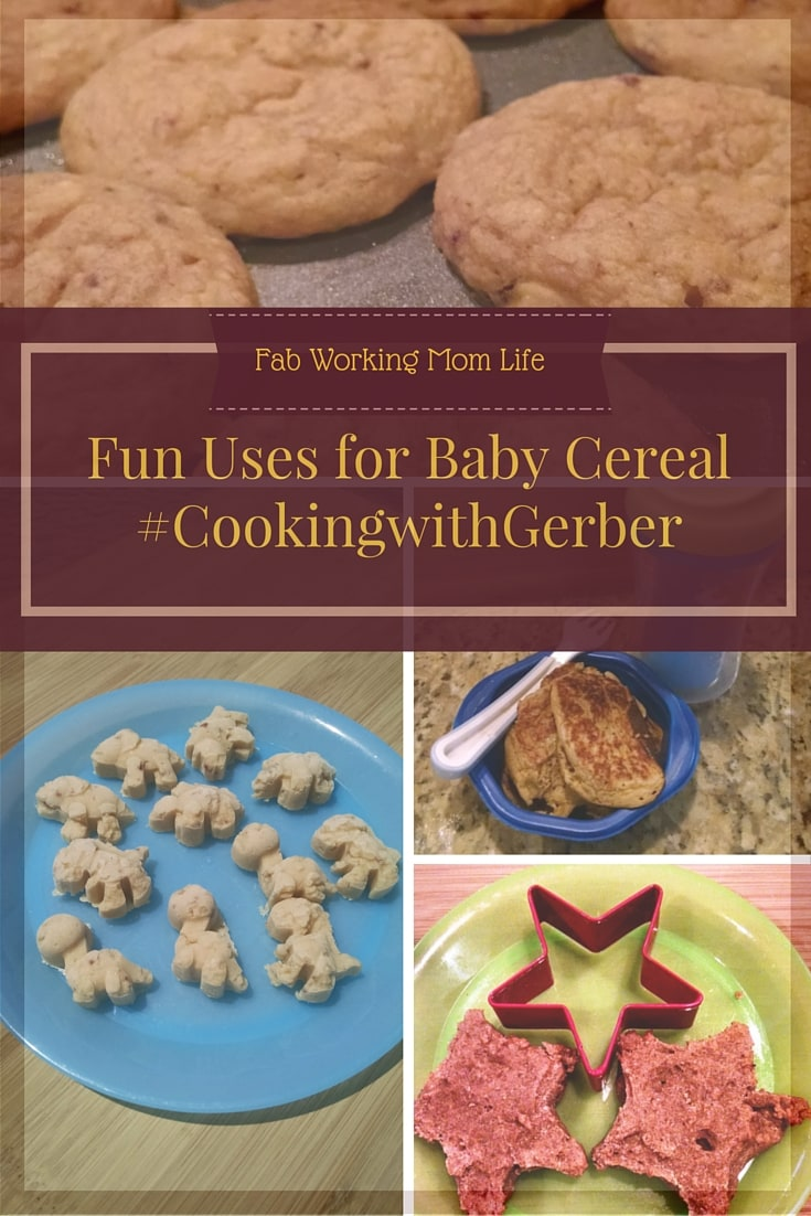 Fun uses for baby cereal CookingwithGerber