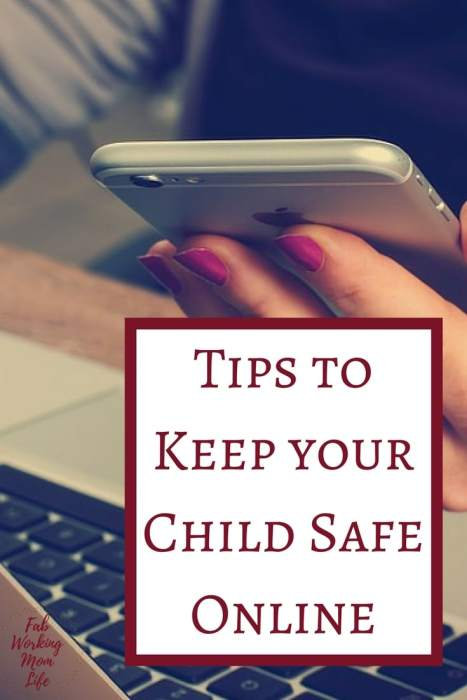 Tips to keep your child safe online