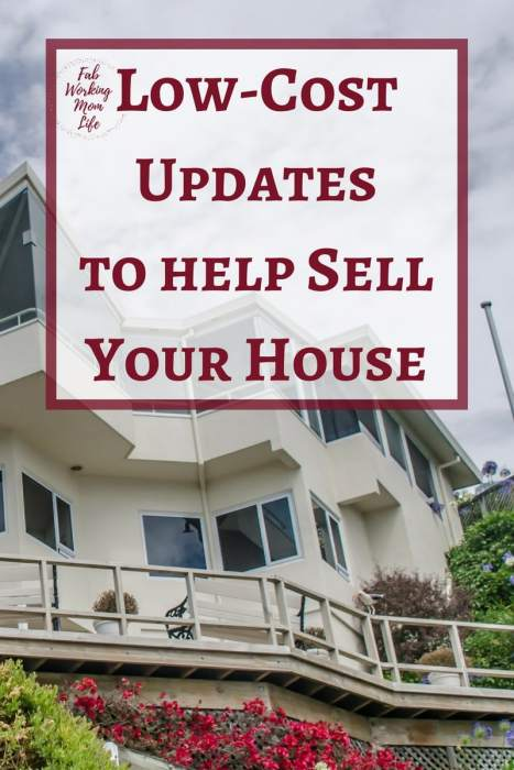 Low-Cost Updates to help Sell Your House