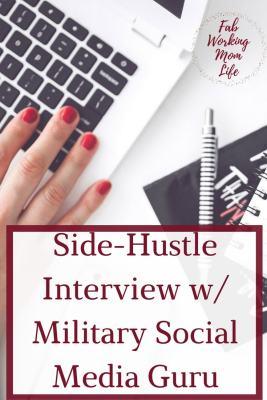 Side-Hustle Series: Interview with Military Social Media Guru, Jenny