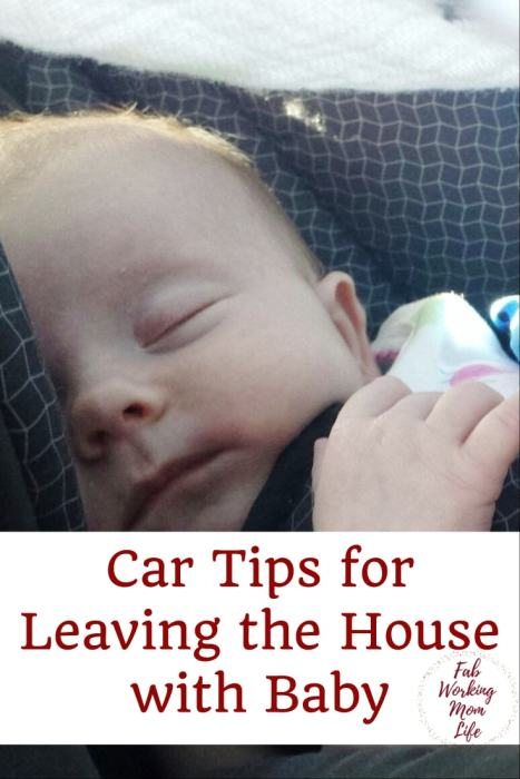 Car Tips for Leaving the House with Baby