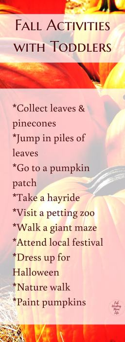 Fall Activities Toddlers