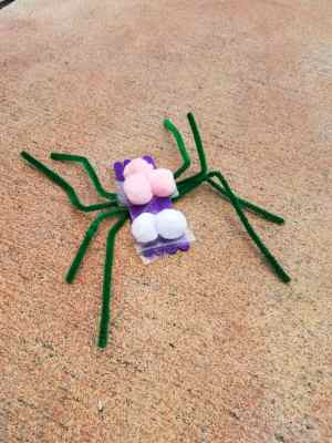 Easy and Fun Halloween Spider Craft for Toddlers