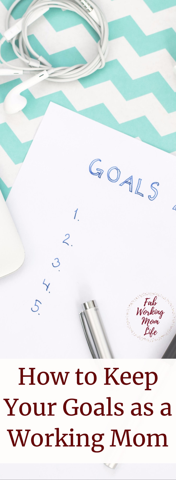 How to Keep Your Career and Personal Goals as a Working Mom #workingmom #career #goals