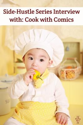 Side-Hustle Series: Interview with Black Streak Kitchen (Cook with Comics) Family Cooking Classes