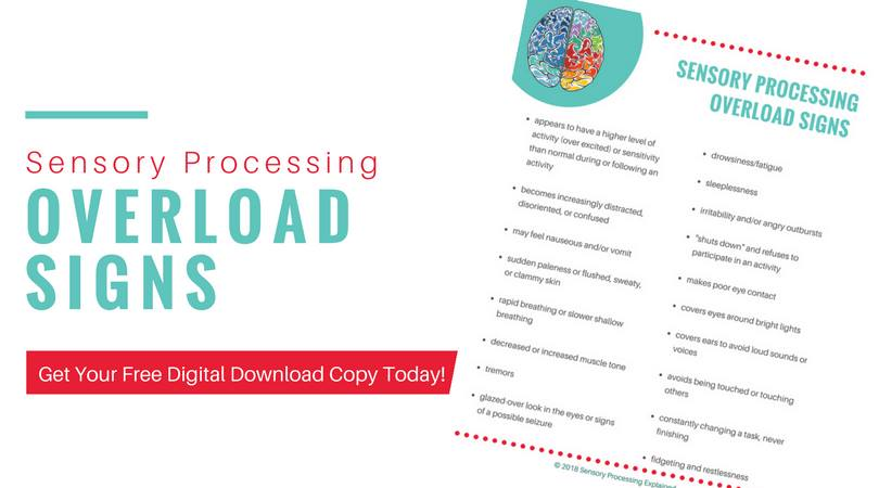 Sensory processing overload