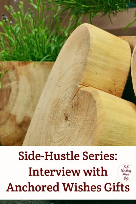 Side-Hustle Series: Interview with Anchored Wishes Gifts