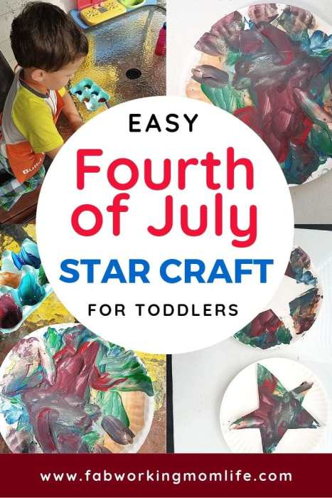 easy fourth of July craft for toddlers