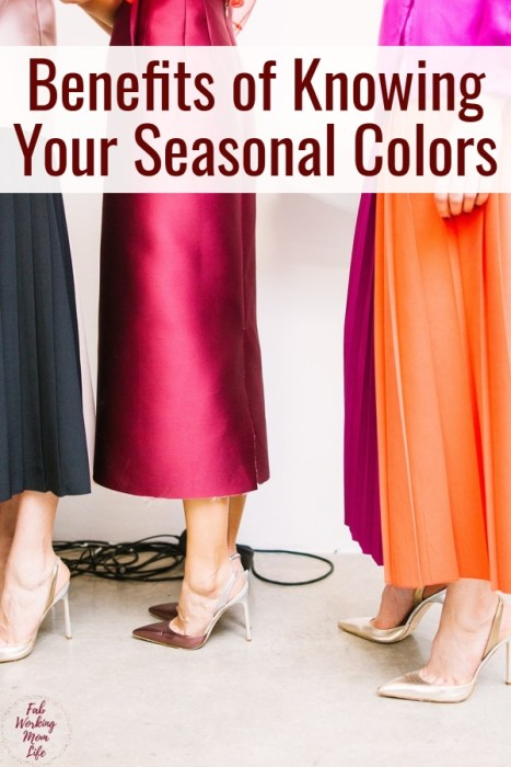 Benefits of Knowing Your Seasonal Colors