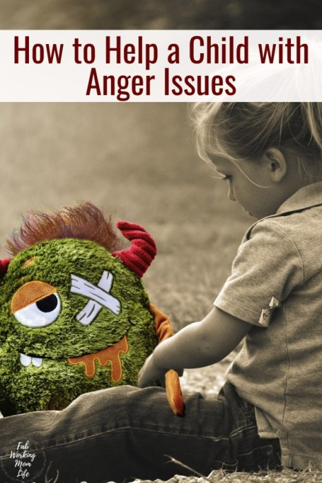 How to Help a Child with Anger Issues | Fab Working Mom Life #parenting postitive parenting techniques to help children with anger or emotional control issues
