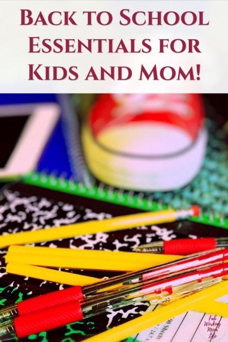 Back to school essentials for kids and mom - Fab Working Mom Life - mom advice, pre-k resources, elementary school, #backtoschool #kindergarten #preschool #workingmom #firstgrade #parenting